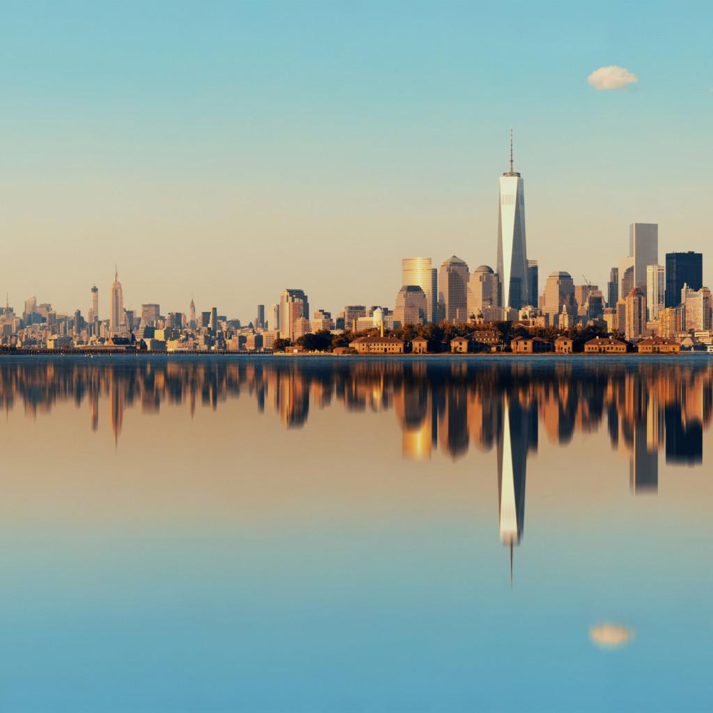 Manhattan Skyline Downtown