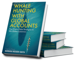 Whale-Hunting-With-Global-Accounts, large account selling guide