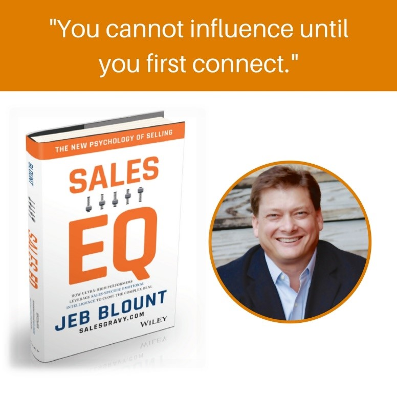 Jeb Blount Says Sales EQ a Must To Win Large Account Sales