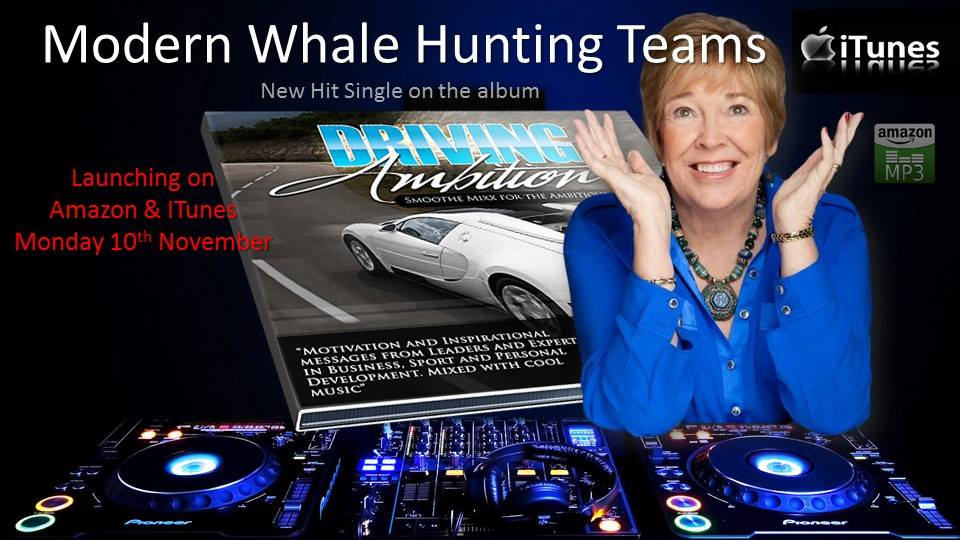 Modern Whale Hunting large account sales