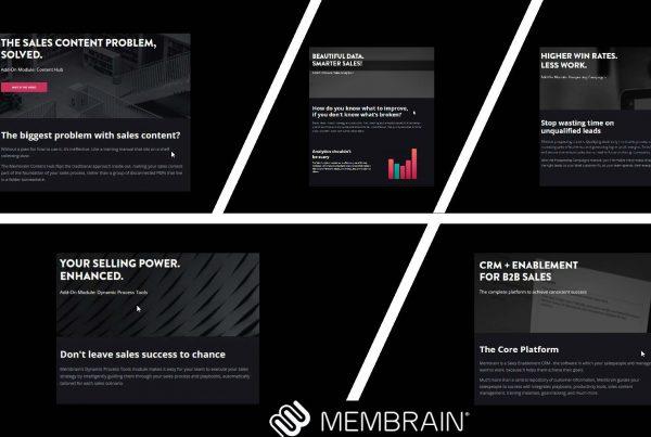 Membrain.com Sales Enablement Software